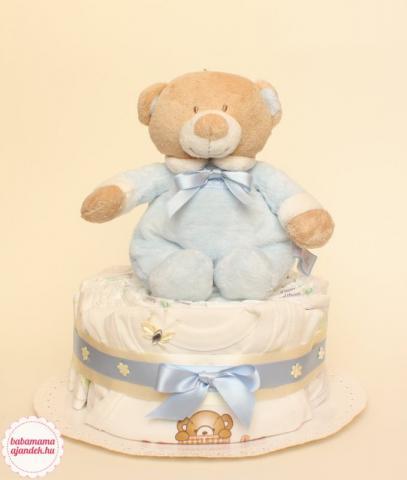 Baby maci pelenkatorta, pelenka torta, baba-mama ajándék